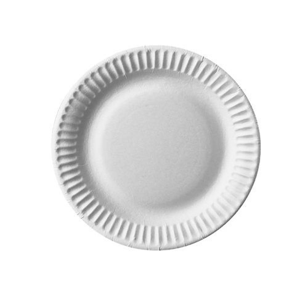 Assiette en carton ''pure'' ronde Ø 15 cm blanc par 1000