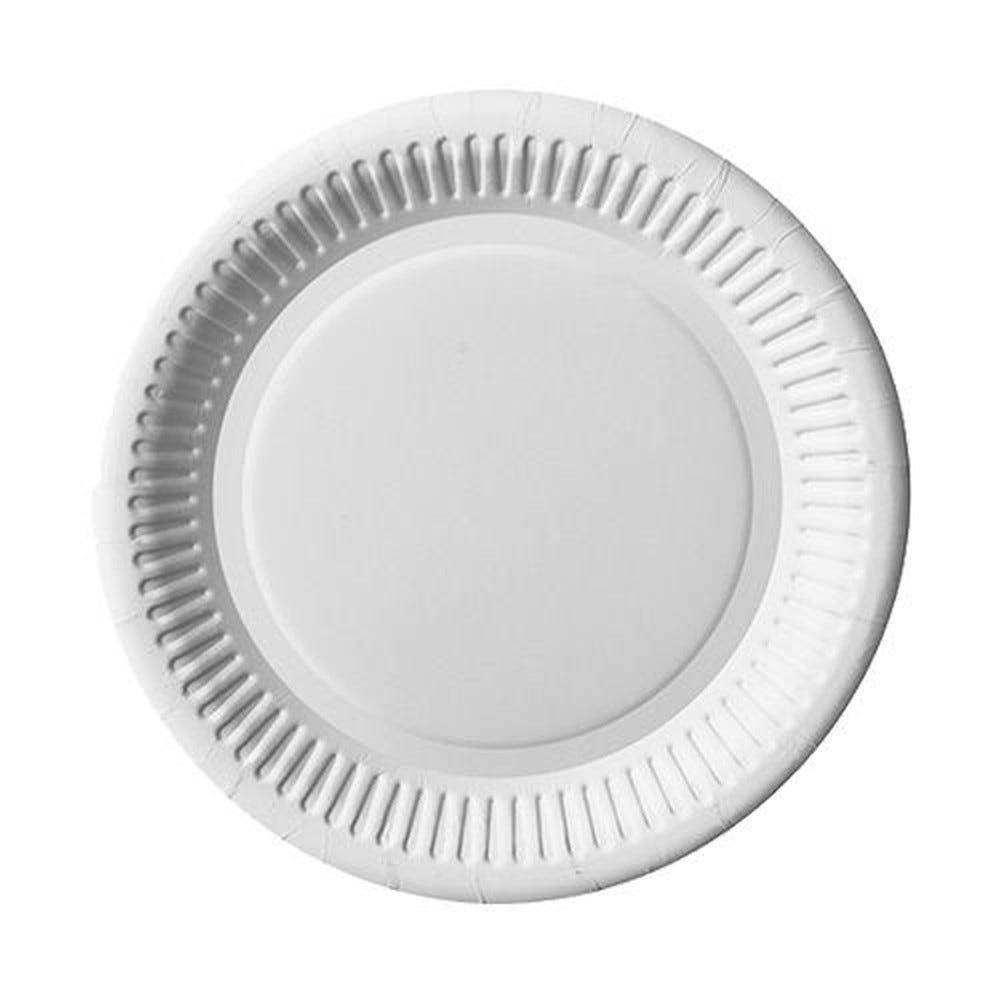 Assiette en carton ''pure'' ronde Ø 20 cm blanc par 1000