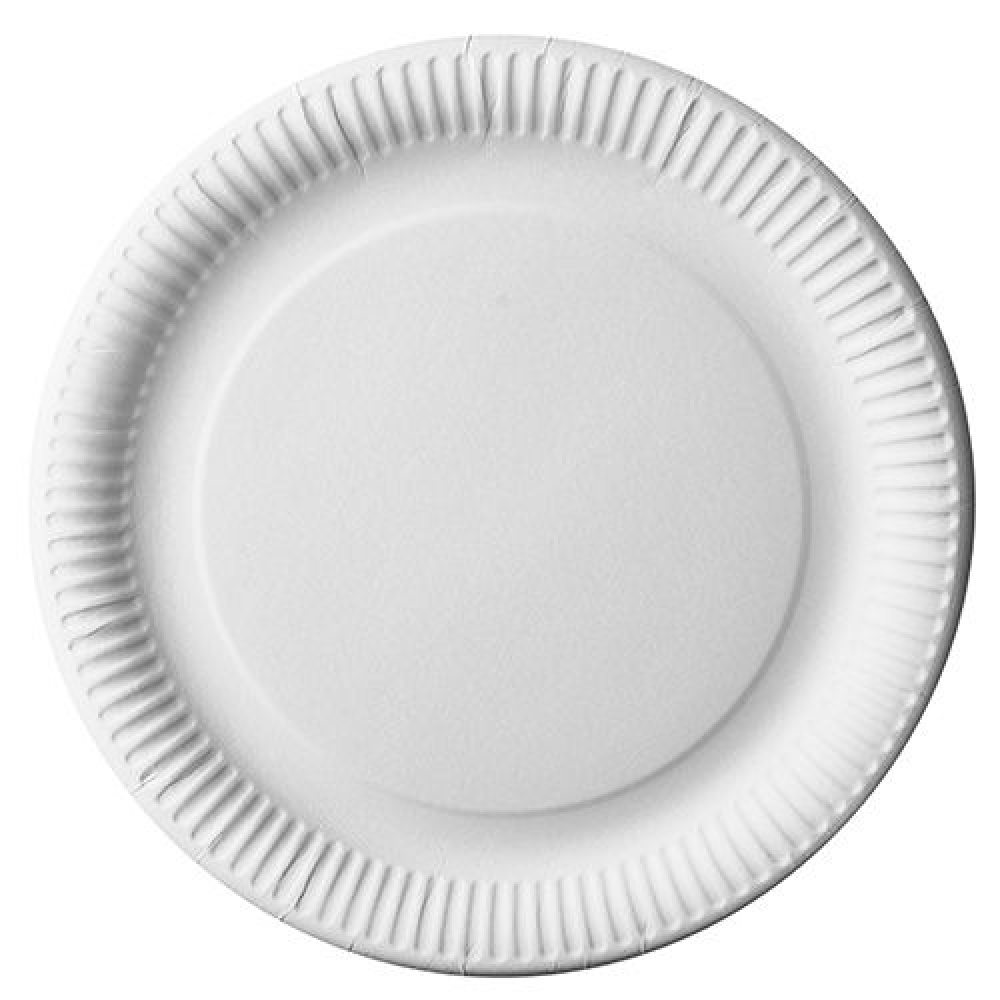Assiette en carton ''pure'' ronde Ø 29 cm blanc par 250