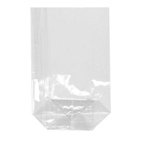 Sac à fond plat, PP 17,3 cm x 11,5 cm x 4 cm transparent par 1200