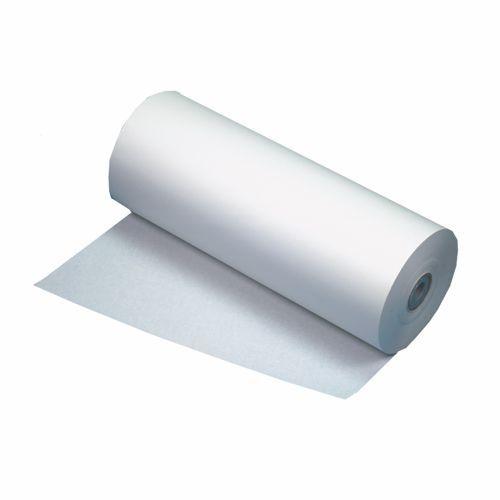 10 kg Papier d'emballage en cellulose 570 m x 50 cm blanc bobines industrielles (photo)