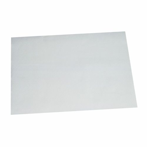 Set de table en papier 30 cm x 40 cm blanc par 1000