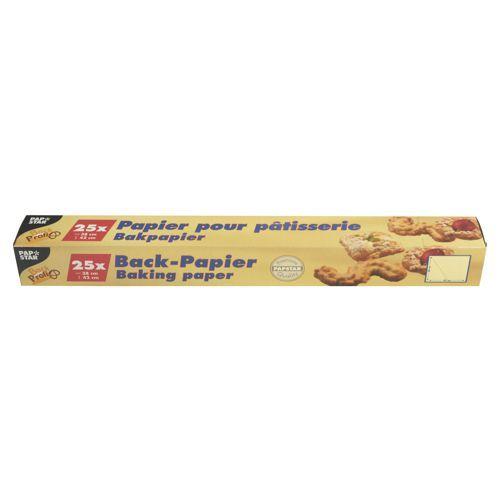 Feuille Papier pour pâtisseries coupefacon 38 cm x 42 cm marron en boîte par 600