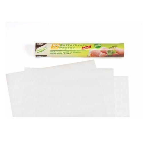 Feuille Papier anti-graisse 25 cm x 30 cm blanc par 3000