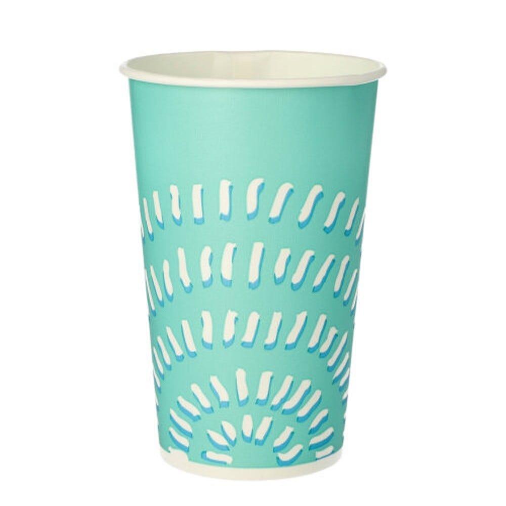 Gobelet boissons froides en carton 0,4 l Ø 8,97 cm · 13,5 cm blanc par 1000