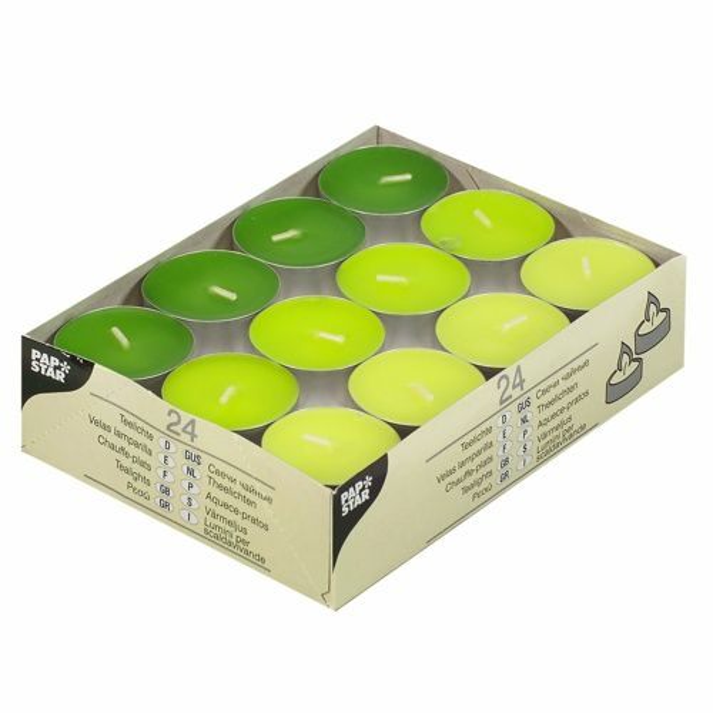 Chauffe-plats Ø 38 mm · 16 mm ''Kiwi, Kiwi-vert, vert-mai'' par 192