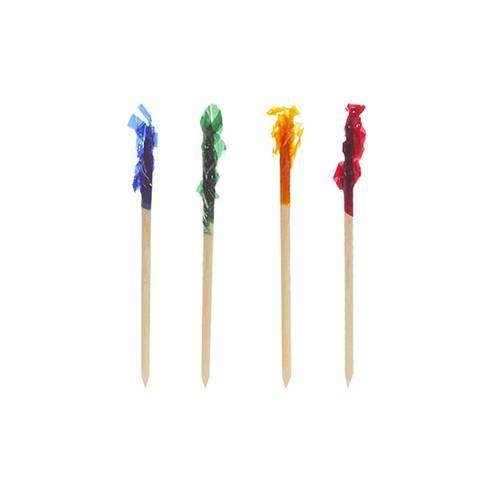 Pique décoratif 6,8 cm couleurs assorties ''Frills'' par 10000