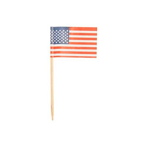 Pique décoratif 8 cm ''Amerique'' par 5000