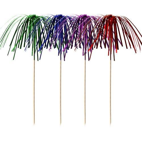 Pique décoratif 15,5 cm couleurs assorties ''Fireworks'' par 2000