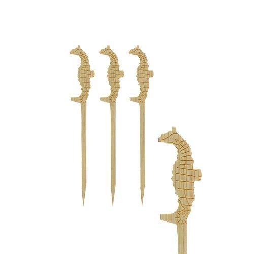 Pique apéritif 9 cm ''Hippocampe'' par 1200