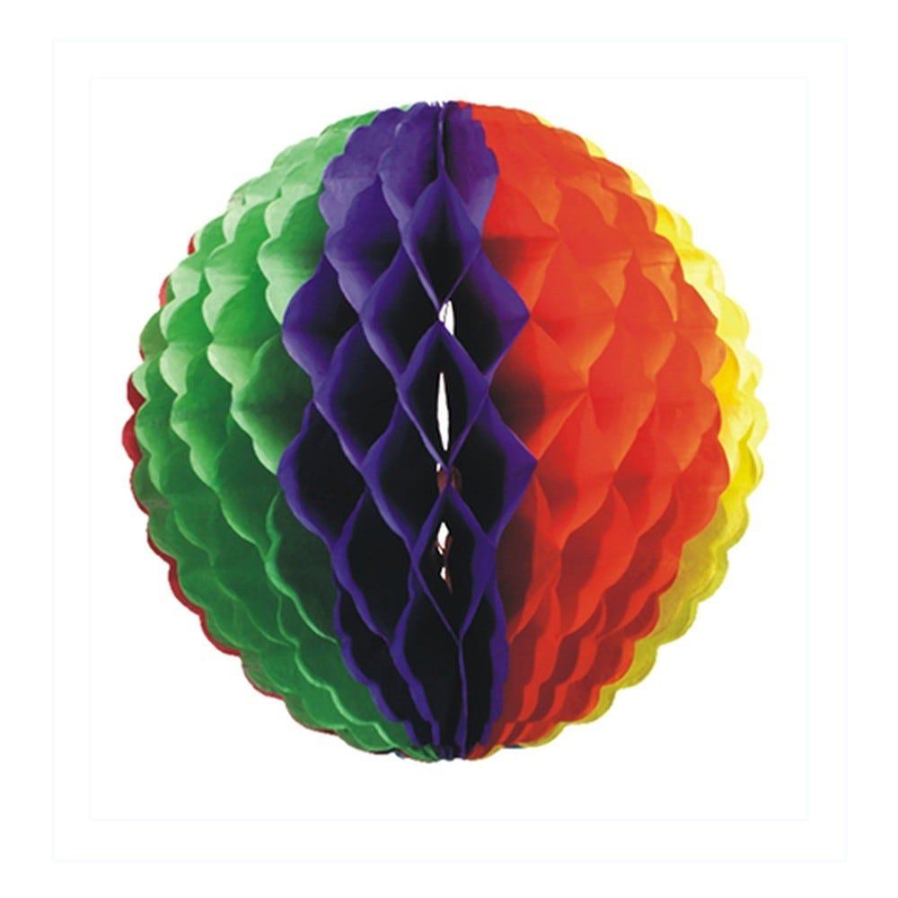 Boule décorative Ø 32 cm ''Rainbow'' par 10