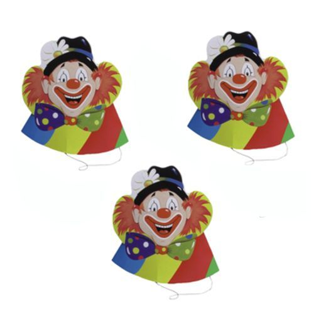 Chapeau ''Visage de clown'' par 30