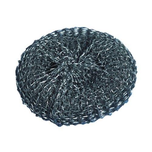 Éponge métallique Ø 12 cm · 3 cm par 50 (photo)