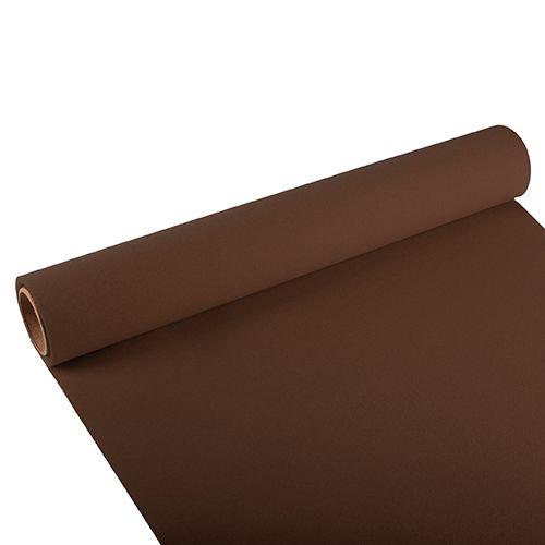 Chemin de table ''ROYAL Collection'' 3 m x 40 cm marron par 6