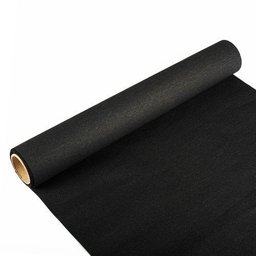 Chemin de table ''ROYAL Collection'' 3 m x 40 cm noir par 6