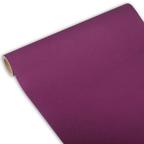 Chemin de table ''ROYAL Collection'' 3 m x 40 cm violet par 6