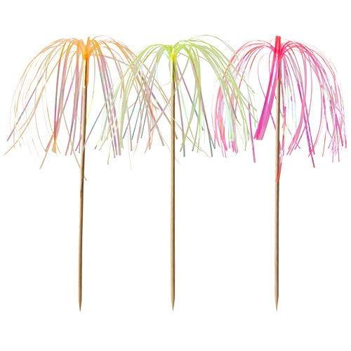 Pique décoratif 15,5 cm néon ''Fireworks'' par 1000