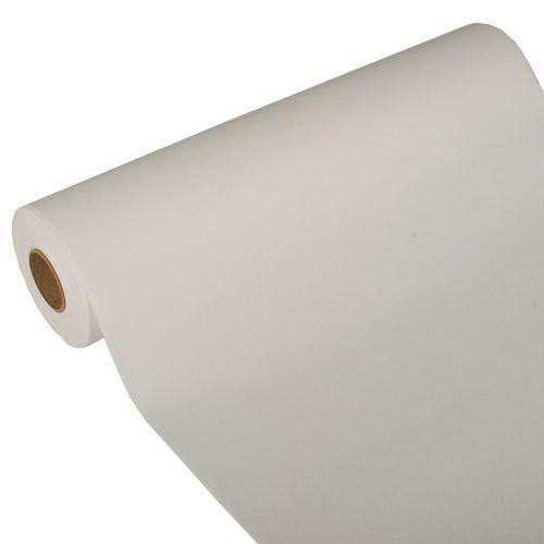Chemin de table ''ROYAL Collection'' 24 m x 40 cm blanc par 4