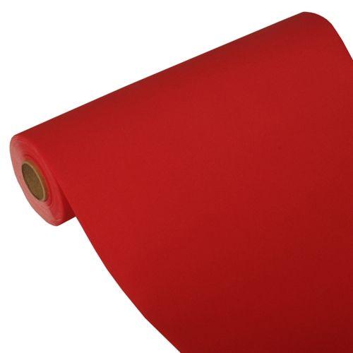 Chemin de table ''ROYAL Collection'' 24 m x 40 cm rouge par 4