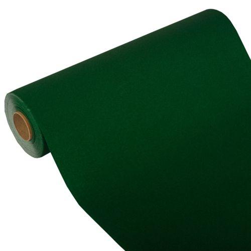 Chemin de table ''ROYAL Collection'' 24 m x 40 cm vert foncé par 4