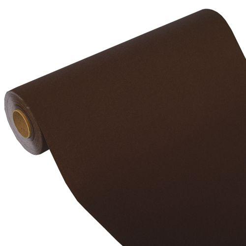 Chemin de table ''ROYAL Collection'' 24 m x 40 cm marron par 4