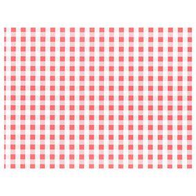 Set de table en papier 30 cm x 40 cm rouge ''Vichy Karo'' par 1000