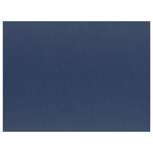 Set de table en  papier 30 cm x 40 cm bleu foncé par 1000