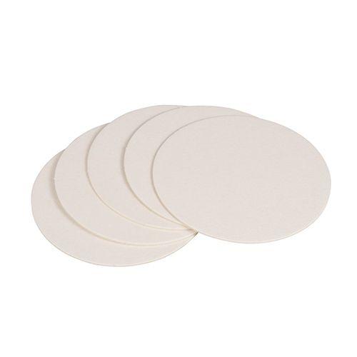 Dessous de verre rond Ø 10,7 cm blanc - par 1000