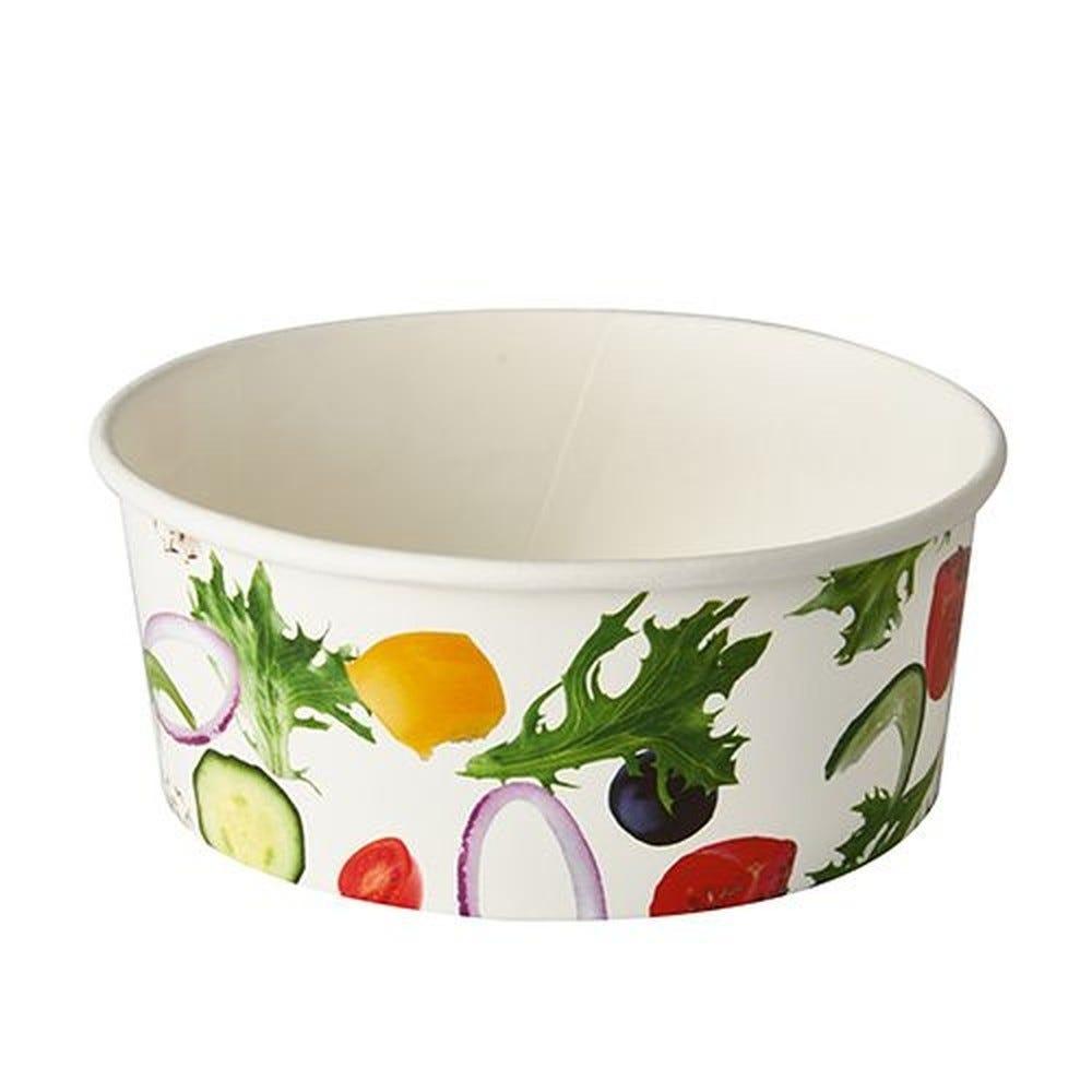 Saladier en carton ''To Go'' 750 ml Ø 15 cm · 6 cm ''Salad'' par 360