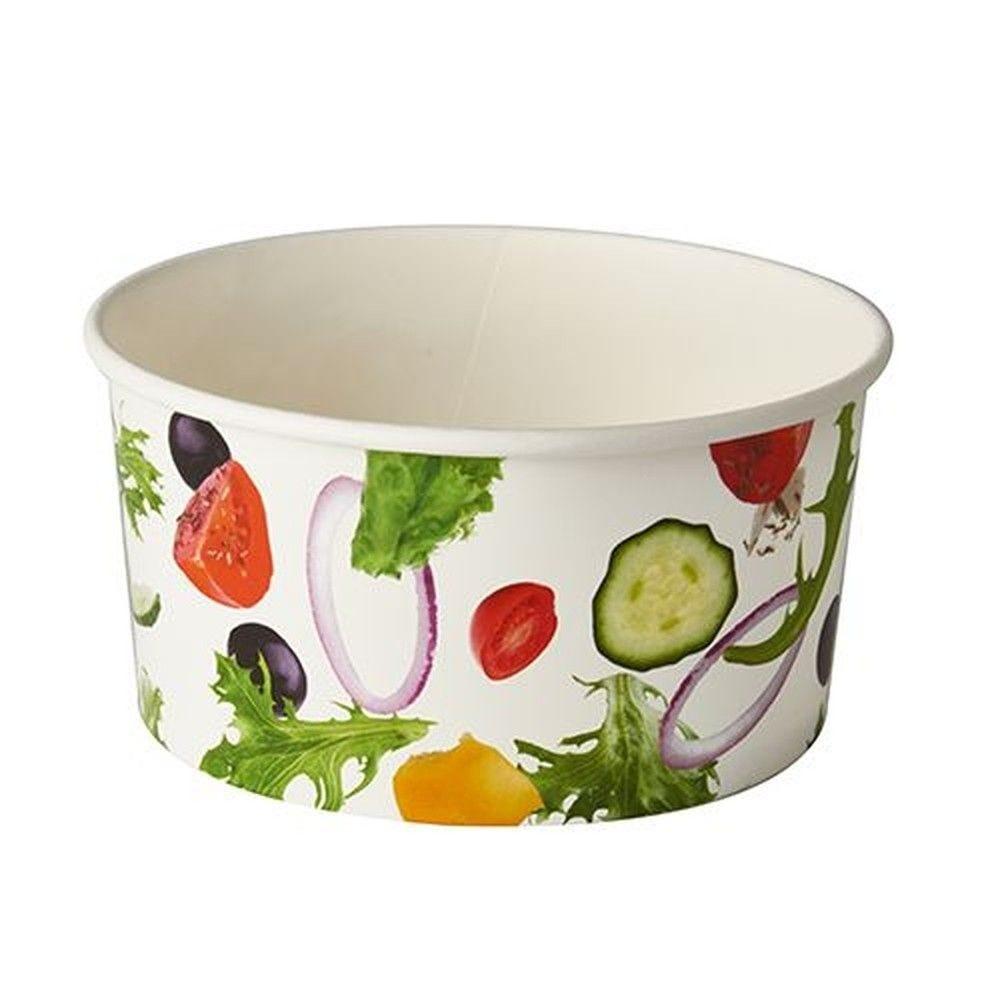 Saladier en carton ''To Go'' 1 l Ø 15 cm · 7,5 cm ''Salad'' par 360