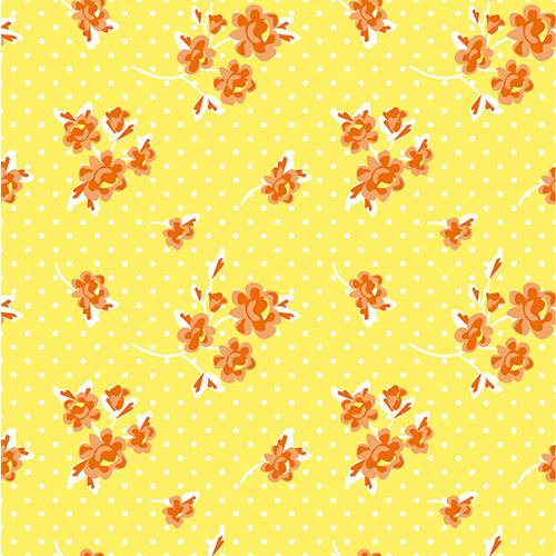 Serviette 3 plis pliage 1/4 40 cm x 40 cm jaune ''Milleflora'' par 200