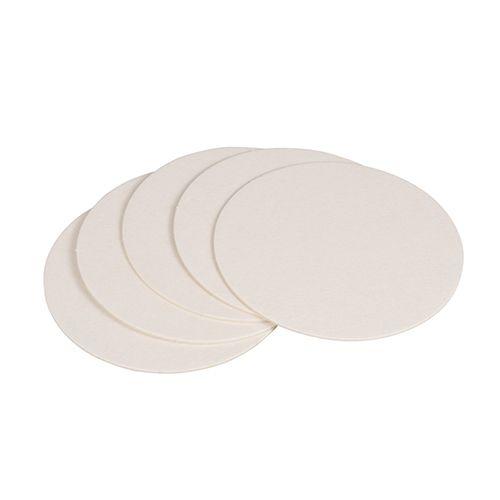 Dessous de verre rond Ø 10,7 cm blanc par 1000