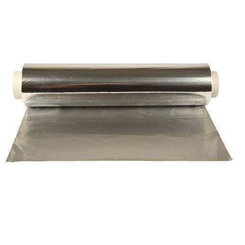 Feuille d'aluminium 150 m x 30 cm rouleau seul par 4