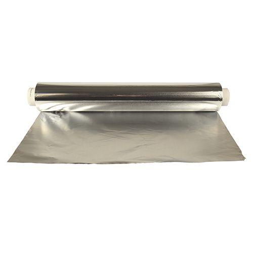 Feuille d'aluminium 150 m x 45 cm rouleau seul par 4