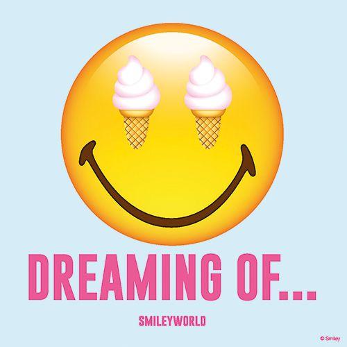 Serviette 3 plis pliage 1/4 33 cm x 33 cm ''Dreaming of Smiley'' par 200