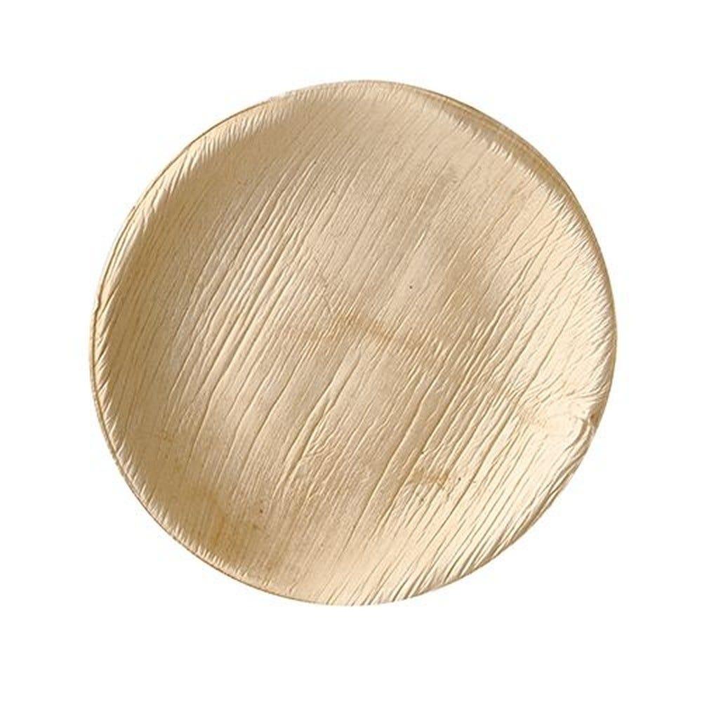 Assiette en Feuille de palmier ''pure'' ronde Ø 15 cm · 1,5 cm par 100