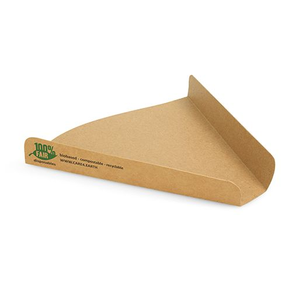 Carton pour part de pizza, en carton 2,5 cm x 17,1 cm x 18,3 cm par 960 (photo)