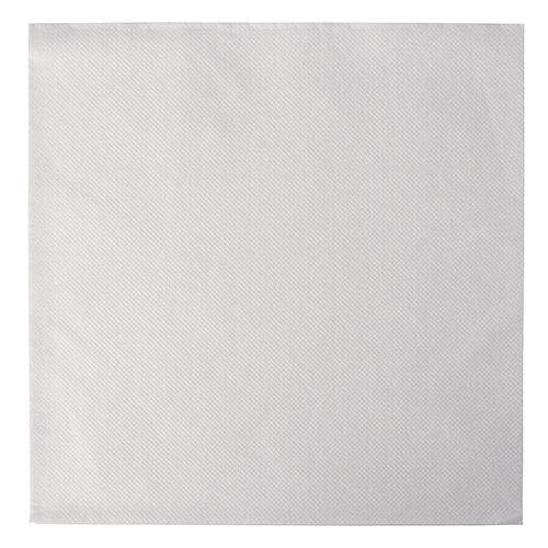 Serviette 'ROYAL Collection' pliage 1/4 48 cm x 48 cm blanc 'Ornaments' par 250