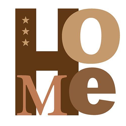 Serviette 3 plis pliage 1/4 33 cm x 33 cm Chocolat ''Home'' par 200