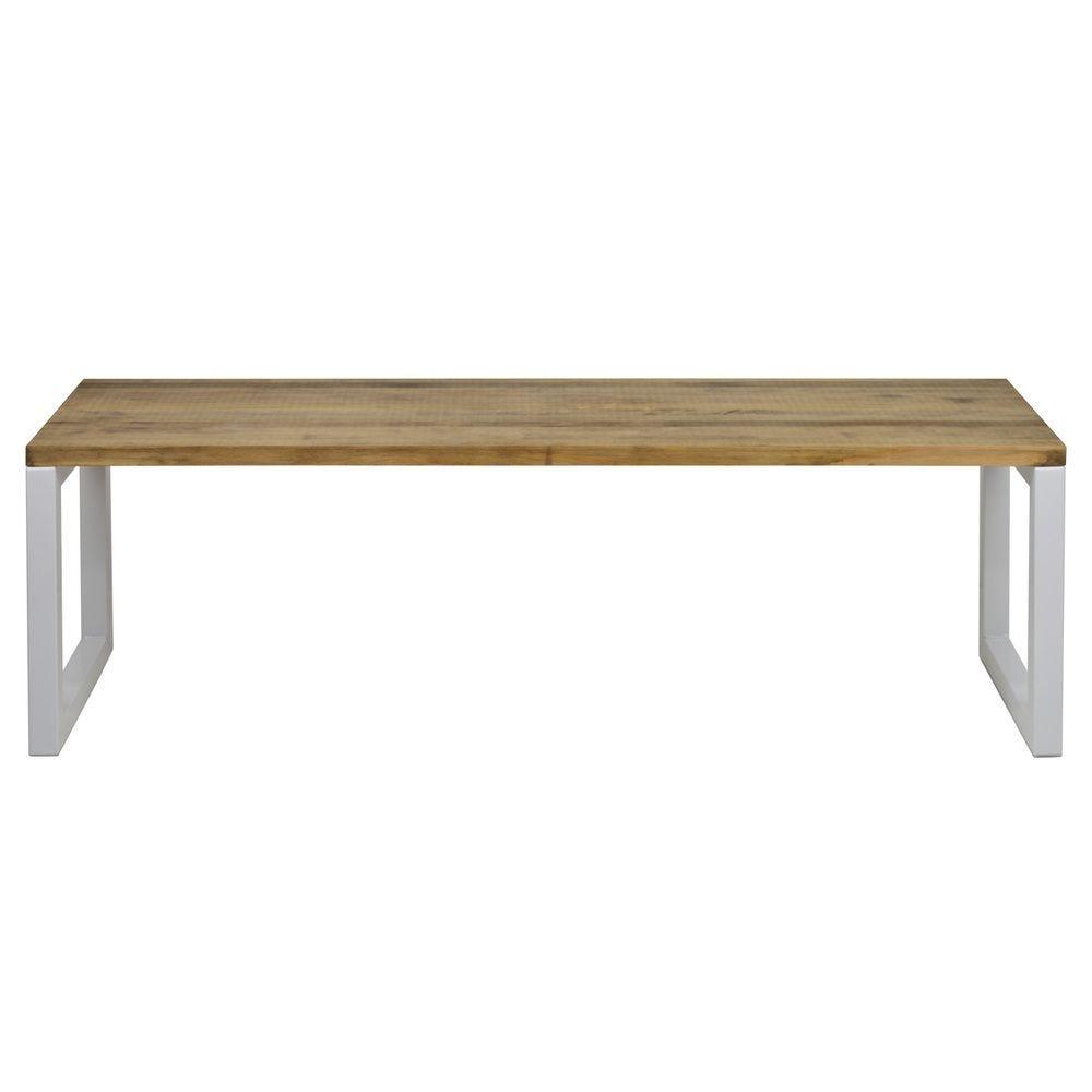 Banc Banquette iCub Strong ECO 40x140x48 cm Blanc Box Furniture
