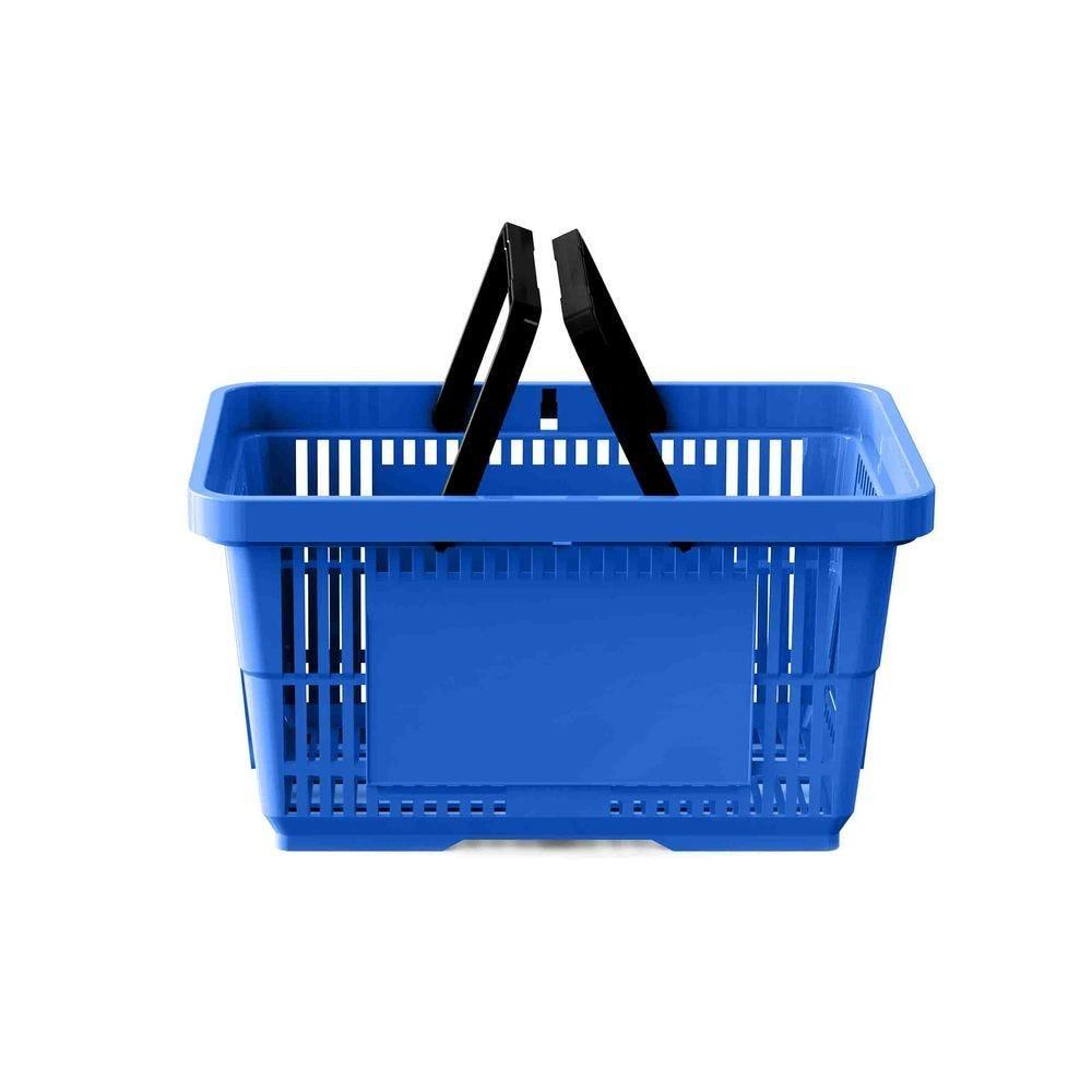 Panier 28 litres 2 anses bleu foncé PAN293 - Par 25