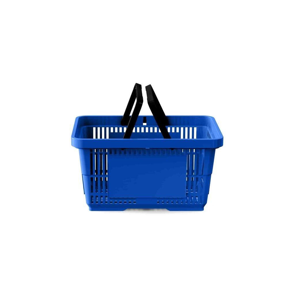 Panier 22 litres 2 anses bleu foncé PAN293 - Par 25