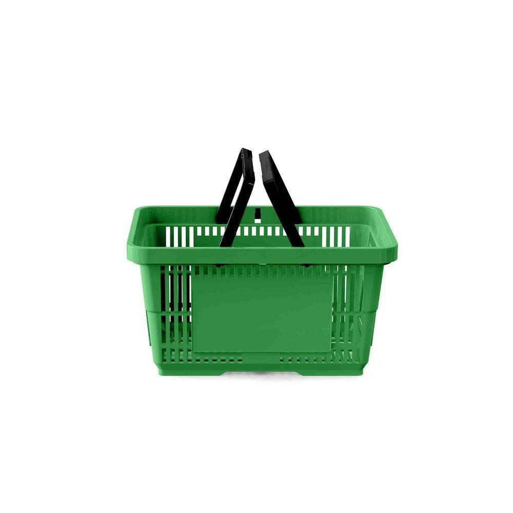 Panier 22 litres 2 anses vert clair PAN347 - Par 25