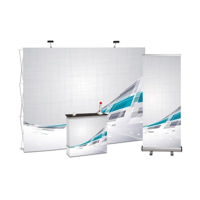 Kit de stand d'exposition ''Fabric'' - Impression numérique incluse