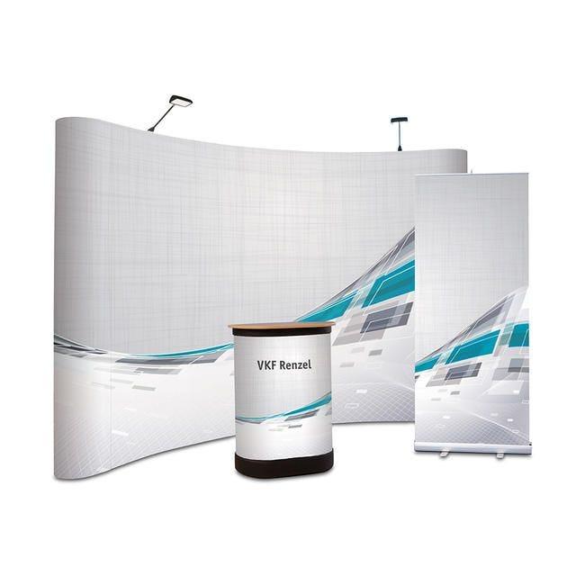 Kit de stand d'exposition ''Deluxe'' - Impression numérique incluse