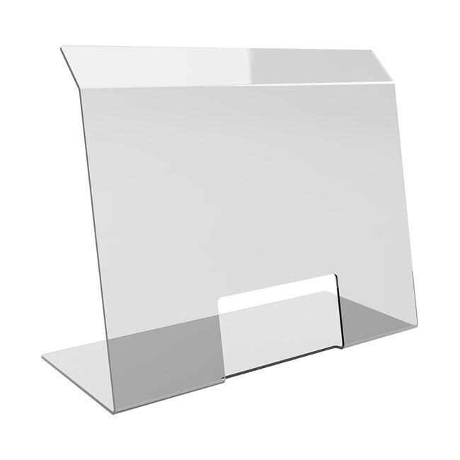 Hygiaphone 'Benita'en verre acrylique 75x60 cm (lxH) - Lot de 5