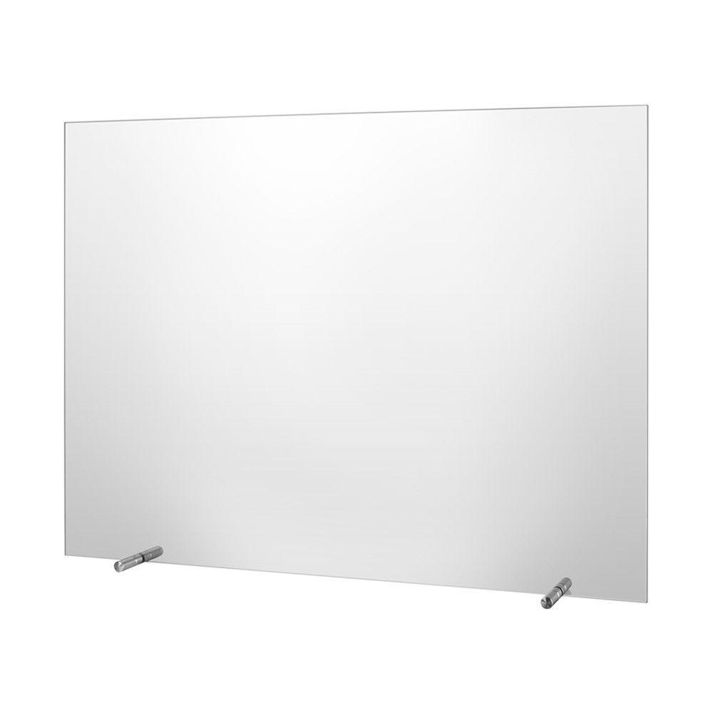 Hygiaphone en verre ESG– 750 x 500 mm – sans ouverture