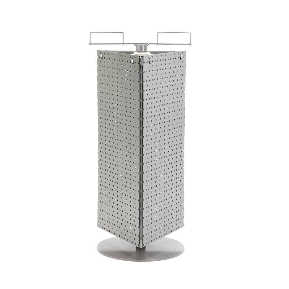 3 Panneaux en métal perforé pour système 'Multi mini' 3 faces + stucture de base