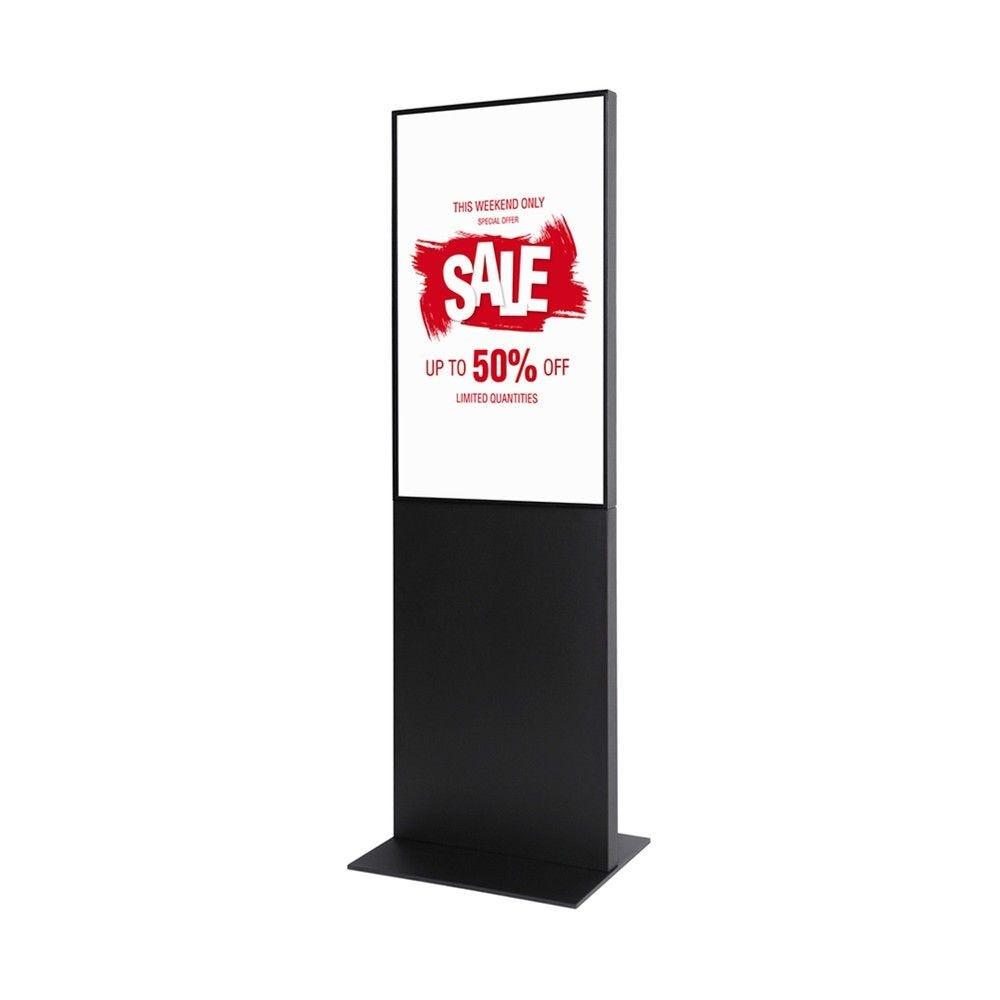 Totem digital 'Pro Infowall Single Slim' - Noir 43 pouces