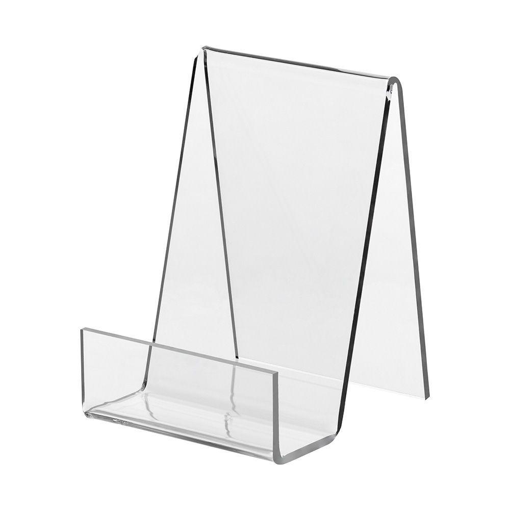 Appui-livre en verre acrylique - 6 x 8 cm - Lot de 5